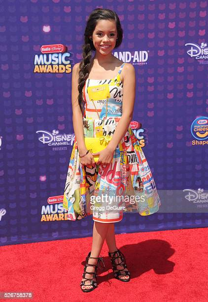 Actress Jenna Ortega arrives at the 2016 Radio Disney Music Awards at Microsoft Theater on April 30 2016 in Los Angeles California