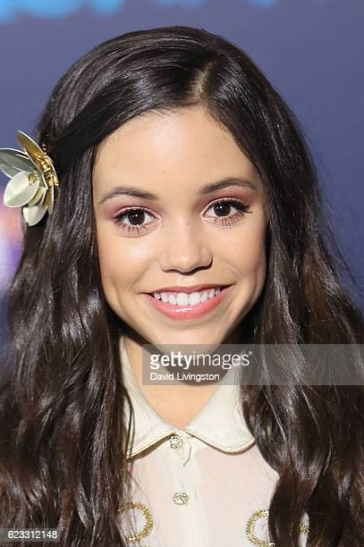 Actress Jenna Ortega arrives at the AFI FEST 2016 presented by Audi premiere of Disney's 'Moana' held at the El Capitan Theatre on November 14 2016...