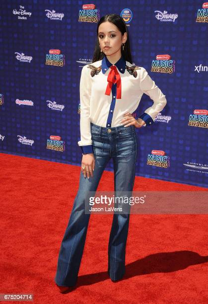 Actress Jenna Ortega attends the 2017 Radio Disney Music Awards at Microsoft Theater on April 29 2017 in Los Angeles California