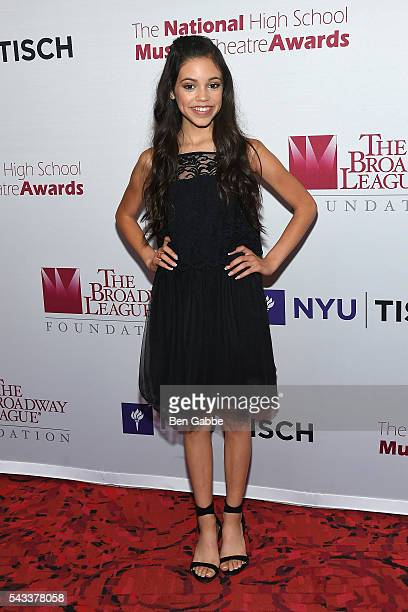 Actress Jenna Ortega attends the 8th Annual National High School Musical Theatre Awards at Minskoff Theatre on June 27 2016 in New York City