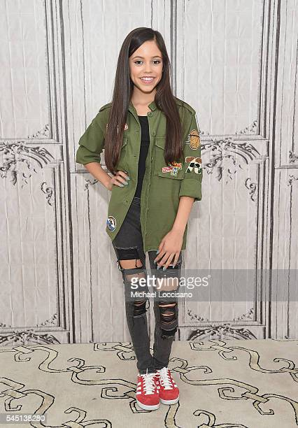 Actress Jenna Ortega attends the AOL Build Speaker Serie at AOL Studios in New York on July 5 2016 in New York City