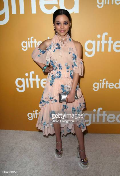 Actress Jenna Ortega attends the premiere of Fox Searchlight Pictures' 'Gifted' at Pacific Theaters at The Grove on April 4 2017 in Los Angeles...