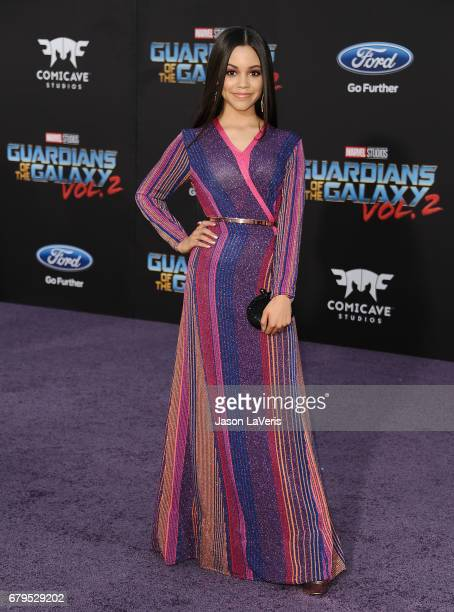 Actress Jenna Ortega attends the premiere of 'Guardians of the Galaxy Vol 2' at Dolby Theatre on April 19 2017 in Hollywood California