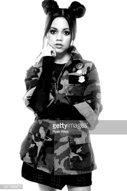 Actress Jenna Ortega is photographed on April 25, 2017 in Los Angeles, California. PUBLISHED IMAGE.