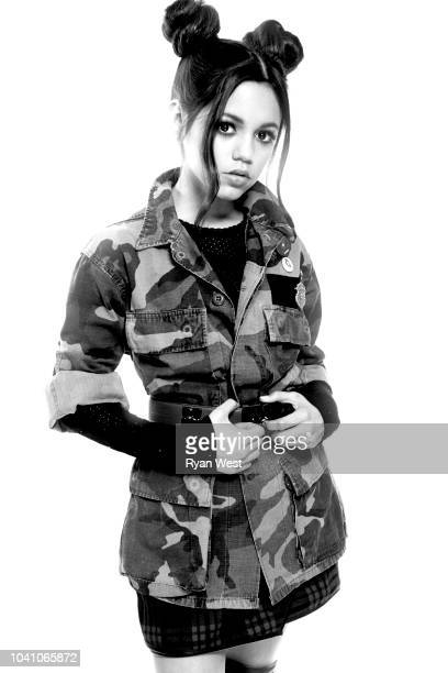 Actress Jenna Ortega is photographed on April 25 2017 in Los Angeles California PUBLISHED IMAGE