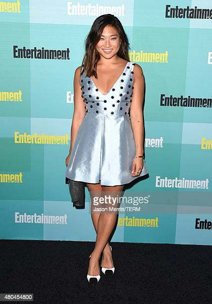 Actress Jenna Ushkowitz attends Entertainment Weekly's ComicCon 2015 Party sponsored by HBO Honda Bud Light Lime and Bud Light Ritas at FLOAT at The...