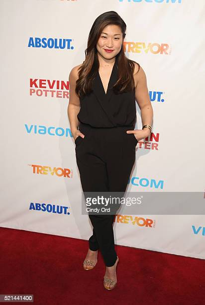 Actress Jenna Ushkowitz attends Trevor NextGen Spring Fling 2016 on April 15, 2016 in New York City.