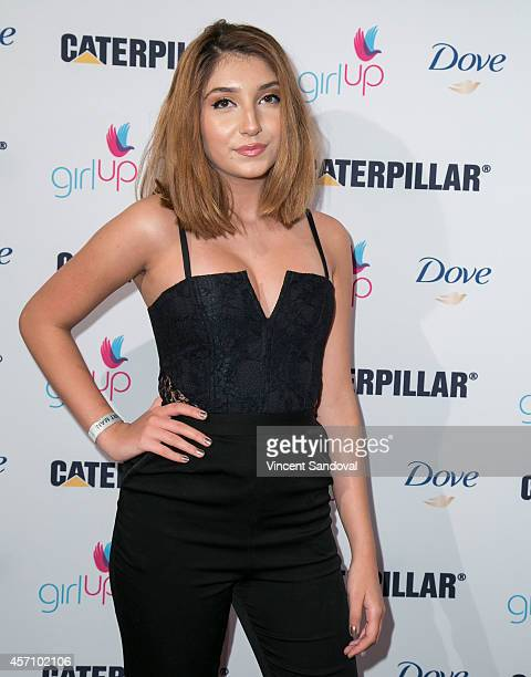 Actress Jennessa Rose attends International Day of The Girl 2014 at UCLA Carnesale Commons on October 11 2014 in Los Angeles California
