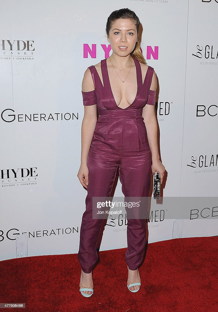 NYLON Magazine And BCBGeneration Annual May Young Hollywood Issue Party Hosted By May Cover Star Dakota Fanning