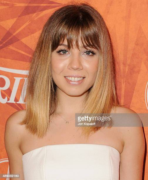 Actress Jennette McCurdy arrives at the Variety And Women In Film Annual Pre-Emmy Celebration at Gracias Madre on September 18, 2015 in West...