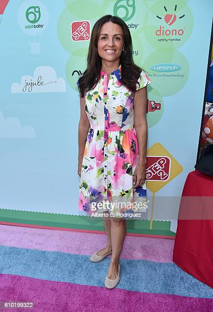 Actress Jenni Pulos attends the Step2 Favoredby Present The 5th Annual Red Carpet Safety Awareness Event at Sony Pictures Studios on September 24...