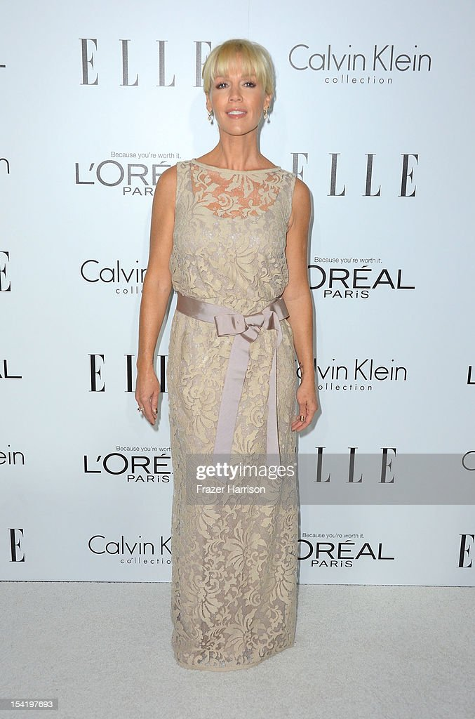 Actress Jennie Garth arrives at ELLE's 19th Annual Women In Hollywood Celebration at the Four Seasons Hotel on October 15, 2012 in Beverly Hills, California.