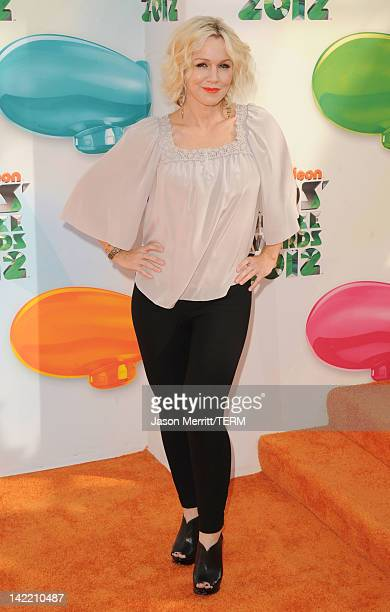 Actress Jennie Garth attends Nickelodeon's 25th Annual Kids' Choice Awards held at Galen Center on March 31 2012 in Los Angeles California