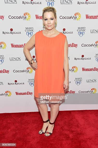 Actress Jennie Garth attends the 2016 Woman's Day Red Dress Awards on February 9 2016 in New York City