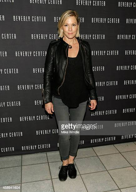 Actress Jennie Garth attends the Beverly Center's Holiday Pet Portraits Debut on November 13 2014 in Los Angeles California
