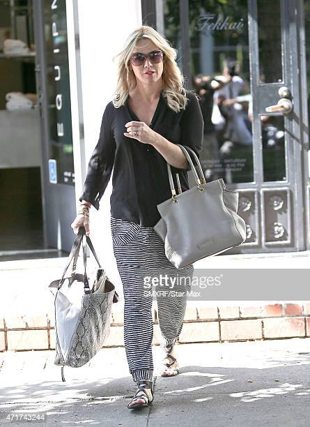 Actress Jennie Garth is seen on April 30, 2015 in Los Angeles, California.