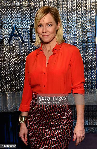 Actress Jennie Garth spearheads the Loving Is Giving partnership between The Heart Foundation and ESCADA in recognition of February Heart Health...