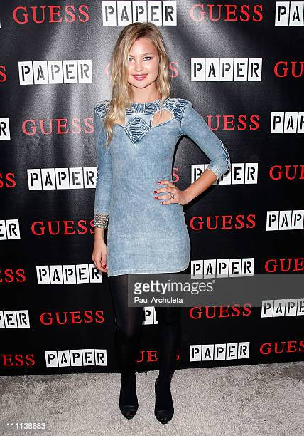 Actress Jennifer Akerman arrives at the Guess and Paper Magazine's 2011 Beautiful People Party at The Standard Hotel on March 29 2011 in Los Angeles...