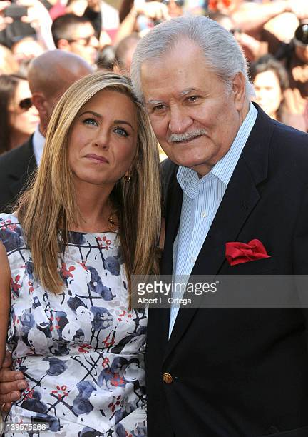 Actress Jennifer Aniston and actor/father John Aniston attend the Star Ceremony for Jennifer Aniston On The Hollywood Walk Of Fame held at 6270...
