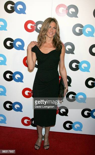 Actress Jennifer Aniston arrives at GQ magazine's 2005 Men Of The Year celebration held at Mr Chow Beverly Hills on December 1 2005 in Beverly Hills...