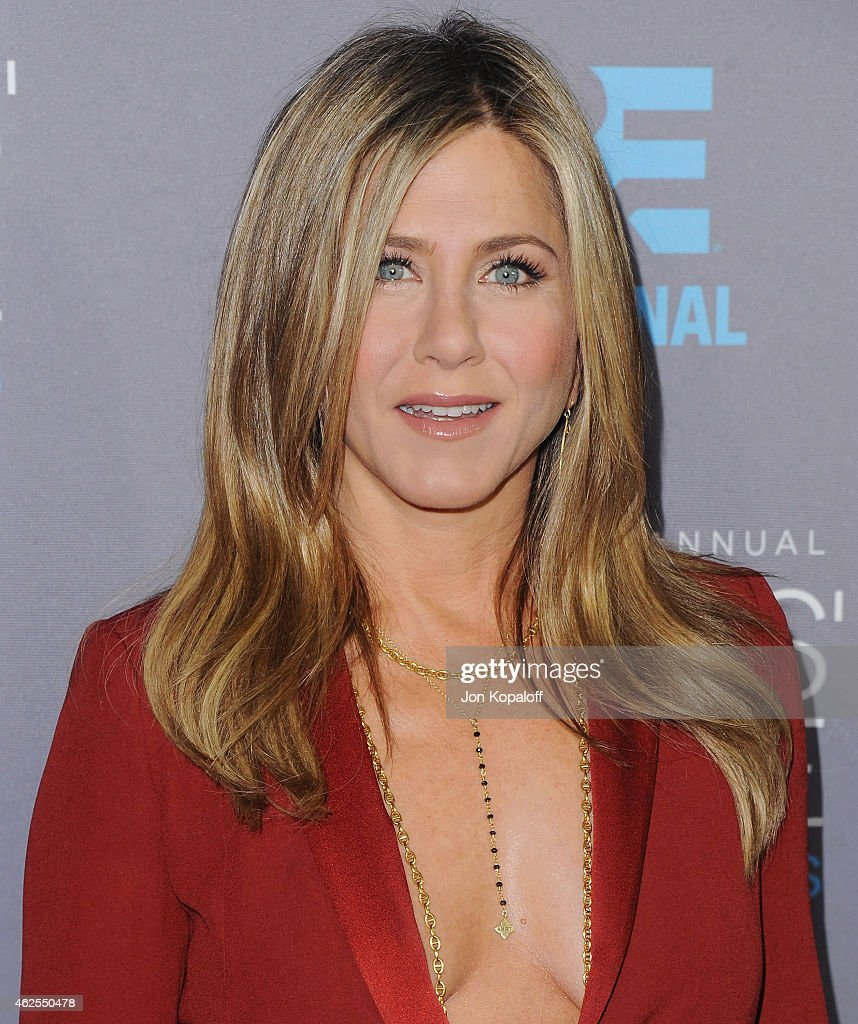 Actress Jennifer Aniston arrives at the 20th Annual Critics' Choice Movie Awards at Hollywood Palladium on January 15, 2015 in Los Angeles, California.