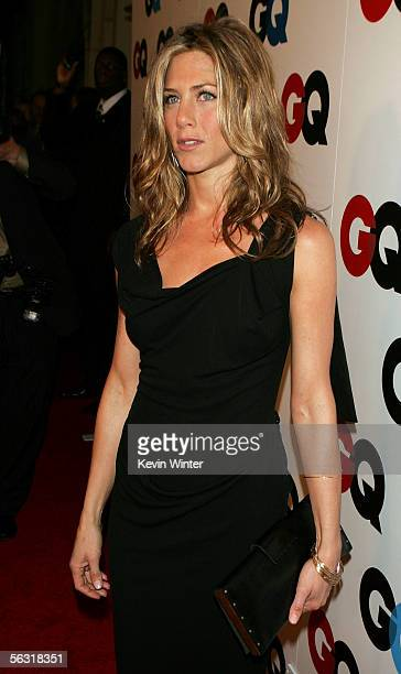 Actress Jennifer Aniston arrives at the GQ 2005 Men Of The Year Awards at Mr Chow Beverly Hills on December 1 2005 in Beverly Hills California