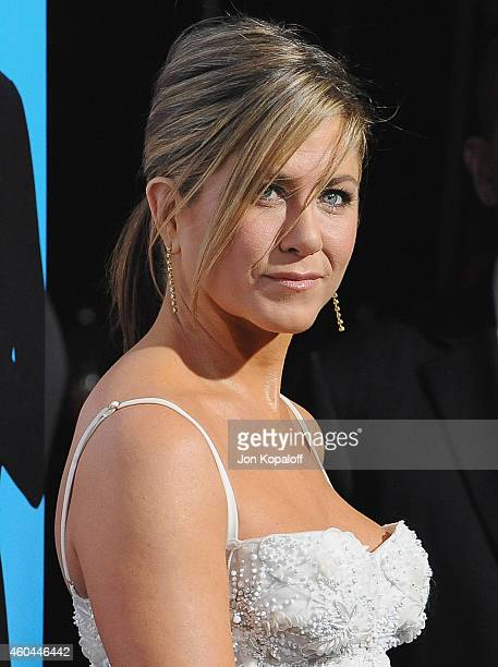 Actress Jennifer Aniston arrives at the Los Angeles Premiere Horrible Bosses 2 at TCL Chinese Theatre on November 20 2014 in Hollywood California