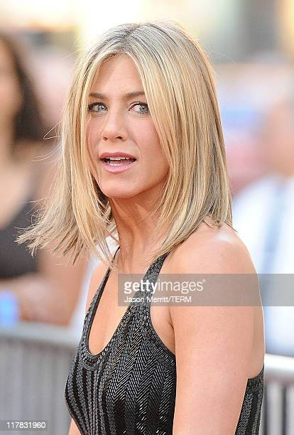 Actress Jennifer Aniston arrives at the premiere of Warner Bros Pictures' 'Horrible Bosses' at Grauman's Chinese Theatre on June 30 2011 in Hollywood...
