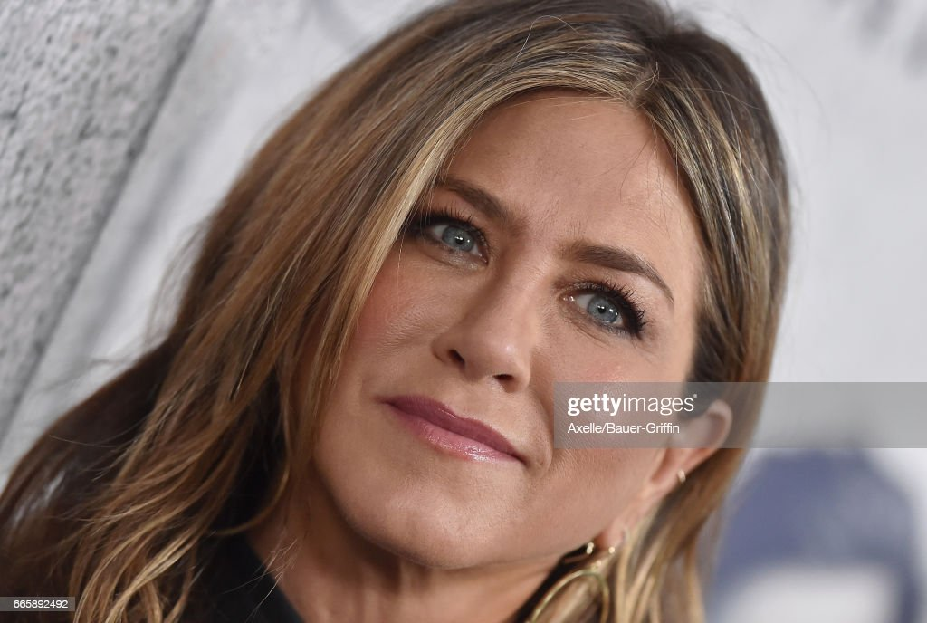 Actress Jennifer Aniston arrives at the Season 3 Premiere of 'The Leftovers' at Avalon Hollywood on April 4, 2017 in Los Angeles, California.