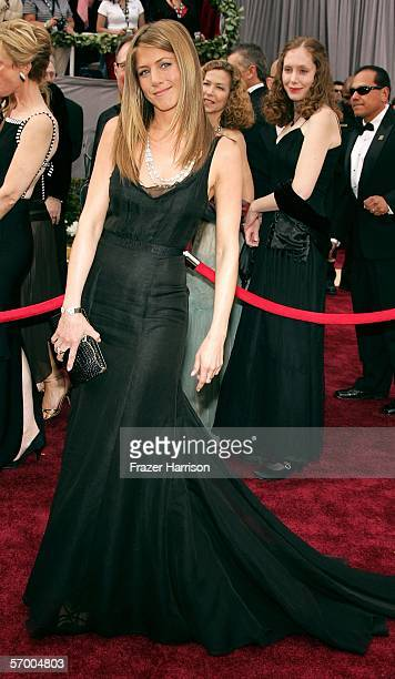 Actress Jennifer Aniston Arrives To The 78th Annual Academy Awards At Kodak Theatre On March
