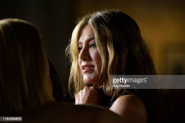 Actress Jennifer Aniston attends Apple TV's The Morning Show world premiere at David Geffen Hall on October 28 2019 in New York City