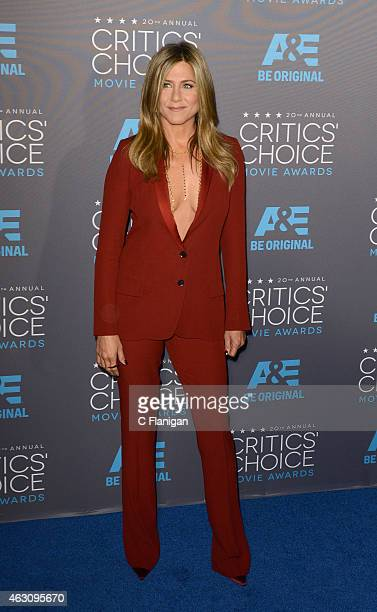 Actress Jennifer Aniston attends The 20th Annual Critics' Choice Movie Awards at Hollywood Palladium on January 15 2015 in Los Angeles California
