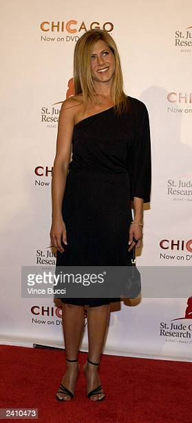 Actress Jennifer Aniston attends the 2nd Annual 'Runway for Life' celebrity fashion show benefiting St Jude Children's Research Hospital and...