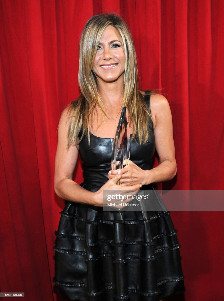 Actress Jennifer Aniston attends the 39th Annual People's Choice Awards at Nokia Theatre L.A. Live on January 9, 2013 in Los Angeles, California.