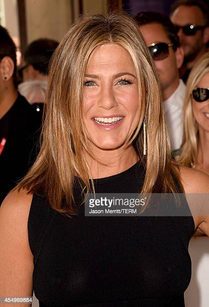 Actress Jennifer Aniston attends the Cake premiere during the 2014 Toronto International Film Festival at The Elgin on September 8 2014 in Toronto...