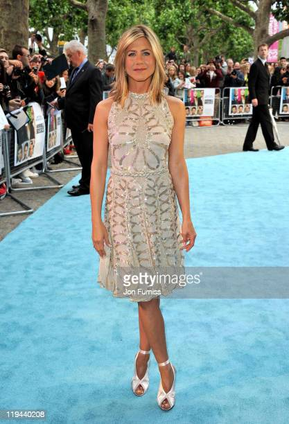 Actress Jennifer Aniston attends the 'Horrible Bosses' film premiere at BFI Southbank on July 20 2011 in London England