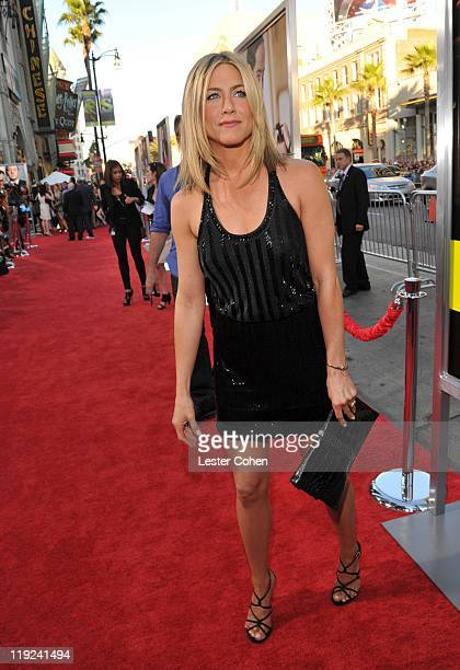 Actress Jennifer Aniston attends the Horrible Bosses Los Angeles Premiere at Grauman's Chinese Theatre on June 30 2011 in Hollywood California