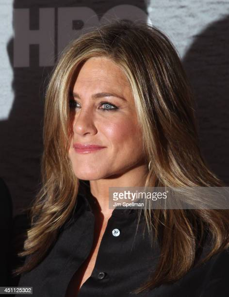 Actress Jennifer Aniston attends The Leftovers premiere at NYU Skirball Center on June 23 2014 in New York City