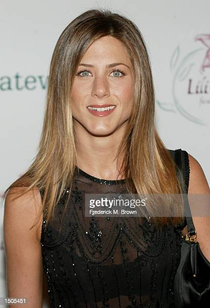 Actress Jennifer Aniston attends the Lili Claire Foundation's 5th Annual Benefit Helping Kids Fly Higher' Auction and Dinner at the Beverly Hilton...