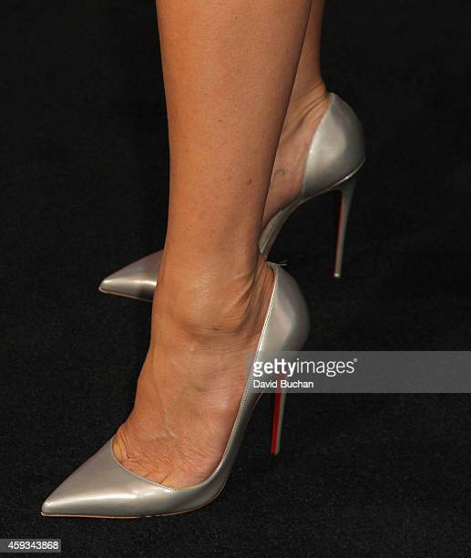 Actress Jennifer Aniston attends the Los Angeles premiere of New Line Cinema's Horrible Bosses 2 at TCL Chinese Theatre on November 20 2014 in...