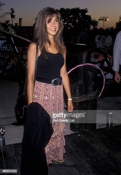 Actress Jennifer Aniston attends the NBC Television Summer Blast Party on July 19 1990 at Century Plaza Hotel in Los Angeles California