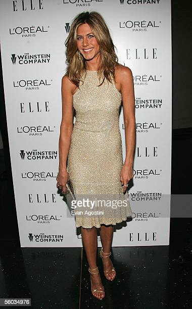 Actress Jennifer Aniston attends the premiere of 'Derailed' at Loews Lincoln Square Theater October 30 2005 in New York City