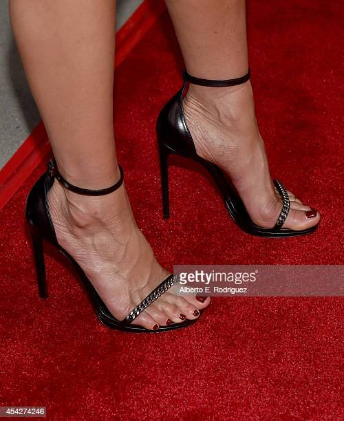 Actress Jennifer Aniston attends the premiere of Lionsgate and Roadside Attractions' Life of Crime at ArcLight Cinemas on August 27 2014 in Hollywood...