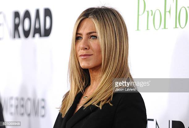 Actress Jennifer Aniston attends the premiere of 'Mother's Day' at TCL Chinese Theatre IMAX on April 13 2016 in Hollywood California