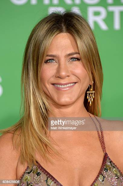 Actress Jennifer Aniston attends the premiere of Paramount Pictures' Office Christmas Party at Regency Village Theatre on December 7 2016 in Westwood...
