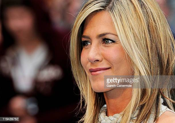 Actress Jennifer Aniston attends the UK film premiere of Horrible Bosses at BFI Southbank on July 20 2011 in London England