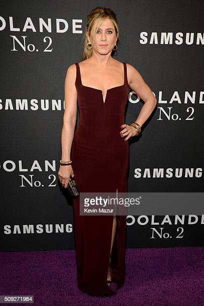 Actress Jennifer Aniston attends the 'Zoolander 2' World Premiere at Alice Tully Hall on February 9 2016 in New York City
