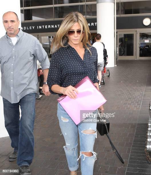 Actress Jennifer Aniston is seen on June 23 2017 in Los Angeles California
