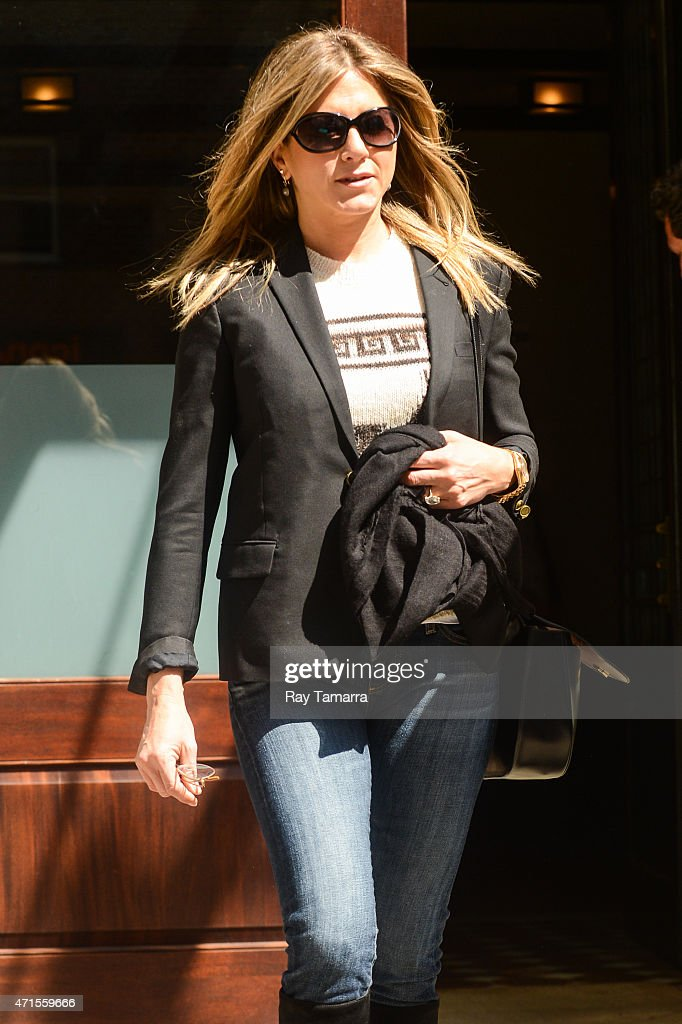 Celebrity Sightings In New York City - April 29, 2015 : News Photo