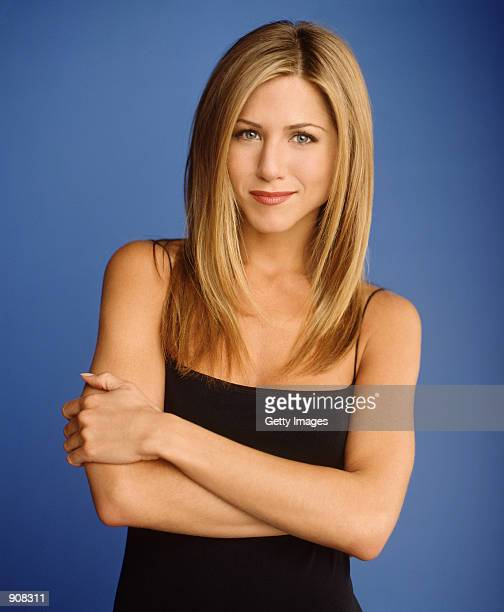 "Actress Jennifer Aniston star as Rachel Green of NBC's comedy series ""Friends."""